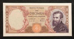 10000 Lire Michelanglo Buonarroti 15 02 1973 Q.spl   LOTTO 702 - [ 2] 1946-… : Républic
