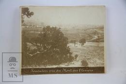 Old Photography - Jerusalem Vue Du Mont Des Oliviers - Lugares