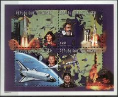 NIGER, 1997, SPACE ENGINEERS, YV#1020-23, MNH - Space