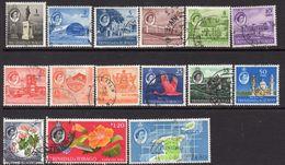 Trinidad And Tobago 1960-7 Definitives Set Of 15, Used, SG 284/97 - Trinidad & Tobago (...-1961)