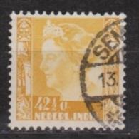 Nederlands Indie Netherlands Indies Dutch Indies 204 Used ; Koningin, Queen, Reine, Reina Wilhelmina 1934-1937 - Niederländisch-Indien