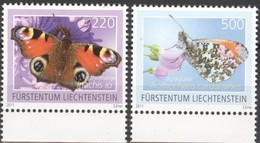 Liechtenstein 2011 Yvertn° 1533-1534 *** MNH Cote 16,00 Euro Faune Papillons Vlinders - Liechtenstein