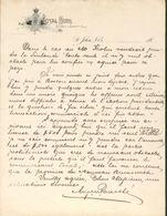 Canada - Saint John - Lettre à Entête De  189? - Royal Hôtel. - Raymond & Domerty,Prop's. - Canada