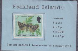 Falkland Islands 1985 Insect Series I Booklet ** Mnh (37624) - Falklandeilanden