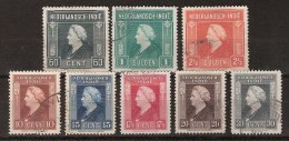 Nederlands Indie Netherlands Indies 309-316 Used ; Koningin, Queen, Reine, Reina Wilhelmina 1945-1946 - Niederländisch-Indien