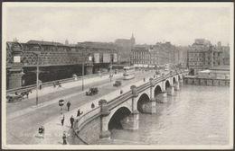 Jamaica Bridge, Glasgow, 1948 - Valentine's Silveresque Postcard - Lanarkshire / Glasgow