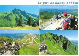 CPM - AUVERGNE - LE PUY DE SANCY - MULTIVUES - Francia