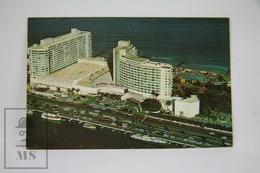 Vintage Postcard USA Florida - The Fabulous Fontainebleau Hotel - Miami Beach - Miami Beach
