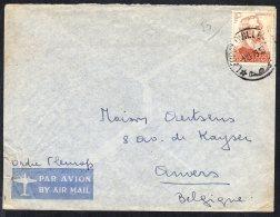 CONGO - LETTRE LEOPOLDVILLE 1949 Vers ANTWERPEN - TL3 - Belgisch-Kongo