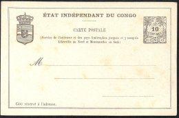CONGO - ENTIER STIBBE NR 4 - NEUF - TL3 - Entiers Postaux