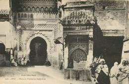 MAROC  Fès Fez Place Et Fontaine Nedjarine Nejjarine édition Rare GILLOT RATEL 26 ( Recto Verso) KEVREN619 - Fez