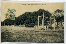 TONKIN  SAIGON  Séance De Gymnastique Militaires Du 11 Em Colonial  écrite En 1912  /D02-S2018 - Vietnam