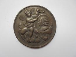 Liège Médaille 1860(Date Sur Tranche Et Attribuée)- 50 Mm-44,5 Gr. - Belgium