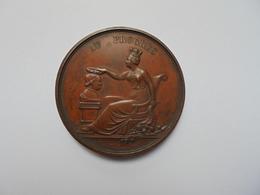 Liège Médaille 1856(Date Sur Tranche Et Attribuée)- 42,5 Mm-36 Gr. - Belgium