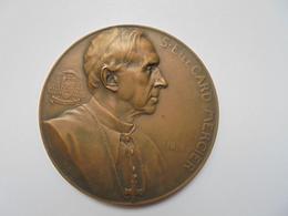 CARDINAL MERCIER Médaille 1916- 60 Mm-78 Gr. - Belgium