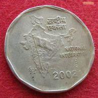 India 1 Rupee 2002 (B) Inde Indie - India