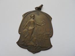 Liège Médaille 1930- 50/60 Mm-55 Gr. - Belgium