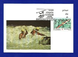 Espana / Spanien  1991  Mi.Nr. 2981 , Pre-Olimpica Barcelona - Maximum Card - Madrid 7 MARZO 1991 - Maximumkarten