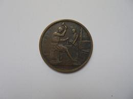 Bruxelles Médaille 1910- 27,5 Mm-10 Gr. - Belgium
