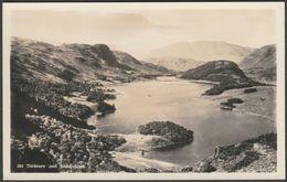 Thirlmere And Saddleback, Cumberland, C.1920s - Abraham RP Postcard - Cumberland/ Westmorland