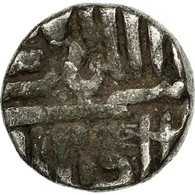Monnaie, INDIA-PRINCELY STATES, NAWANAGAR, Kori, 1850, TB+, Argent, KM:10 - Inde