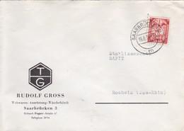 Sarre Saar Saarbrücken Brief 1950 Lettre à Entête Rudolf Gross - Lettres & Documents