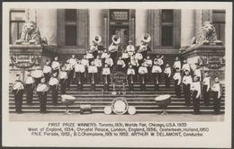 Vancouver Kitsilano Boys Band, Canada, C.1953 - Gowen Sutton RP Postcard - Vancouver