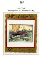 PIA - CANADA - 1997 : Capolavori Dell' Arte Canadese - Quadro Di W.J.Philips - Battello Sul Lago Winnipeg  - (Yv 1505) - Nuovi