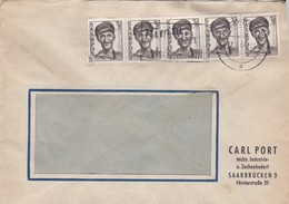 Sarre Saar Saarbrücken Brief 1950 Lettre à Entête Carl Port - Lettres & Documents