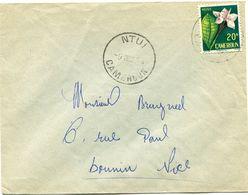 CAMEROUN LETTRE DEPART NTUI 9 DEC ? CAMEROUN POUR LA FRANCE - Cameroun (1915-1959)