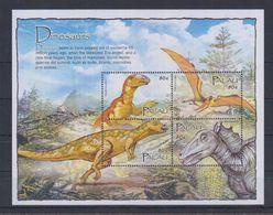 F62. MNH Palau Nature Animals Prehistoric Animals Dinosaurus - Prehistorics