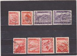 AUTRICHE   1948  Y.T. N° 697  à  711  Incomplet  Oblitéré - 1945-60 Used
