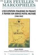 Feuilles Marcophiles Sup Au N° 338  L'occupation Italienne En France - Tijdschriften