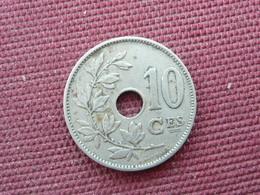BELGIQUE Monnaie De 10 Cts 1923 - 1909-1934: Albert I