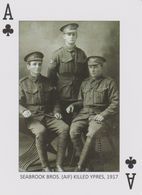 Guerre - World War - Seabrook Bros. AIF - Killed Ypres - 1917. - 1914-18