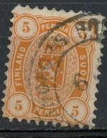 Finland 1875 5p Coat Of Arms, Issue  #18 - 1856-1917 Russian Government
