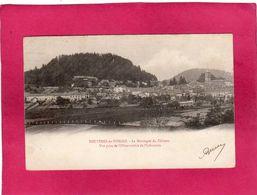 88 Vosges, Bruyères-en-Vosges, La Montagne Du Château, Vue Prise De L'Observatoire De L'Infanterie, 1903 - Bruyeres