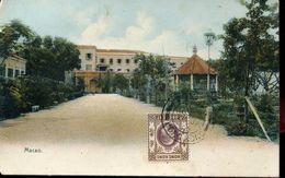 30805 Hong Kong,  Post Card Not Circuled 1907 Showing  Macao  (see 2 Scan) - Hong Kong (...-1997)