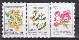 Argentina - FLOWERS 1985 MNH - Argentina