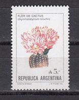 Argentina - FLOWER / CACTUS 1987 MNH - Argentina