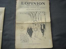 Journal De La Semaine L'Opinion N° 55 Dans Le Jardins De L'élysée - Journaux - Quotidiens