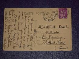 Autographe Cyclisme 1936 Fabien Galateau Sur Cpa Cachet Vélo Club Levallois VCL St Cloud Résultat 23e - Pour Solliès - Autographes