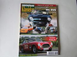 Onschatbare Klassiekers, Oldtimers, 2011 - Tijdschriften