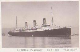 Paquebot        354      Paquebot Lutetia - Steamers