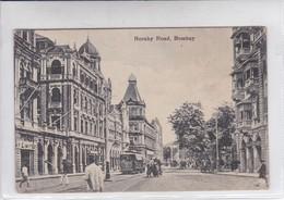 HORNBY ROAD. BOMBAY.-RARE-TBE-BLEUP - India