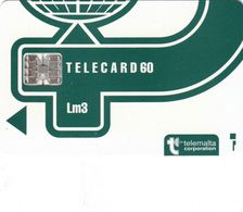 Malta Generic Phonecard Superb Used - (with Inovatron Logo) - Malta