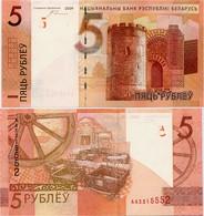 BELARUS      5 Rublej       P-37       2009 (2016)        UNC - Bielorussia
