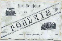 FOULAIN  Souvenir Des Manoeures De 1906, Camp De Foulain, - Saint Dizier