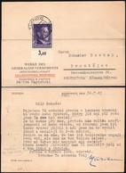 Germany - WERKE DES GENERALGOUVERNEMENTS - Zellstoffwerk NIEDOMICE B. TARNOW (Distr. KRAKAU) 24.7.1943 - Prostejov. - Besetzungen 1938-45