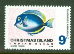 Christmas Is: 1968/70   Fish   SG27   9c   MNH - Christmas Island